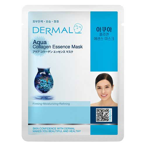 Dermal Korea Aqua Collagen Essence Sheet Face Mask
