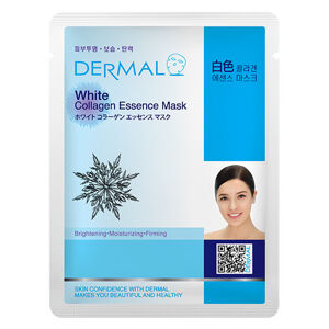 dermal white collagen essence mask