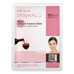 Dermal Korea Wine Collagen Essence Full Face Sheet Mask