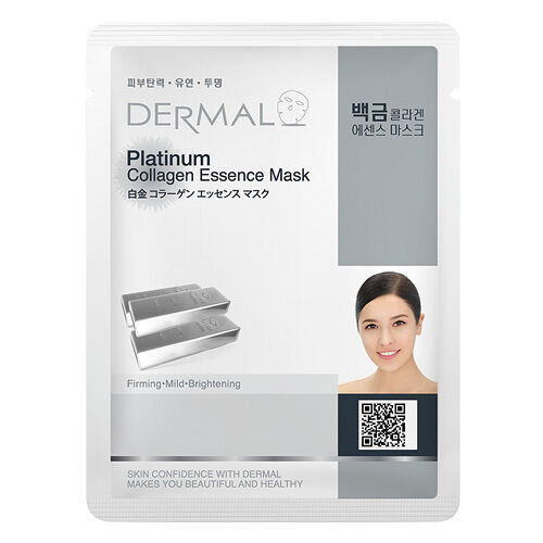 Dermal Korea Platinum Collagen Essence Full Face Sheet Mask