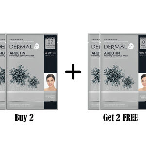 Dermal Advanced Arbutin Healing Essence Mask Buy 2 Get 2 Free