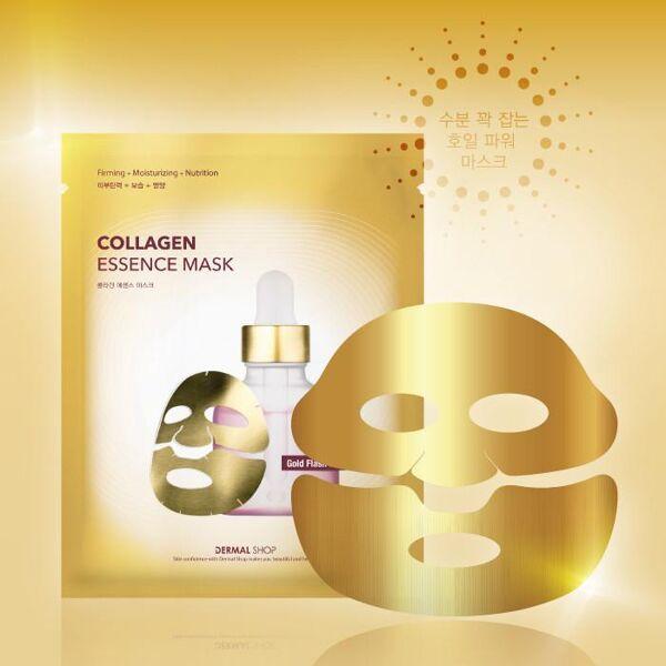 Dermal Shop Collagen Essence Gold Foil Face Mask
