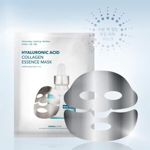 Dermal Shop Hyaluronic Acid Collagen Essence - Silver Foil Face Mask
