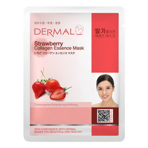 Dermal Korea Strawberry Collagen Essence Sheet Face Mask