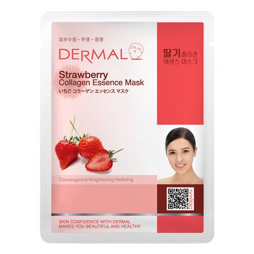 Dermal Korea Strawberry Collagen Essence Sheet Face Mask