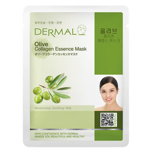 Dermal Korea Olive Collagen Essence Sheet Face Mask