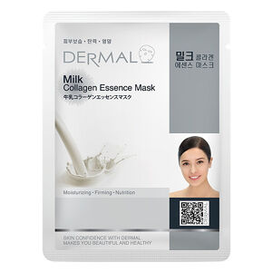 Dermal Korea Milk Collagen Essence Sheet Face Mask