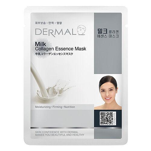 Dermal Korea Milk Collagen Essence Sheet Face Mask