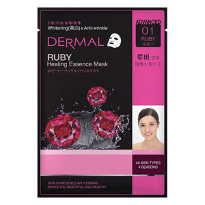 Dermal Korea Advanced Ruby Healing Essence Face Mask
