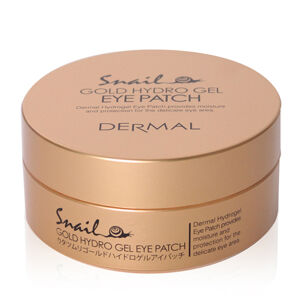 Dermal Snail Gold Hydro Gel Mask Eye Patch (60 Sheets)