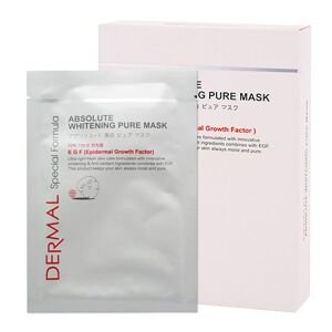Dermal Special Formula Absolute Whitening Pure Mask 1 BOX (8 Sheets)