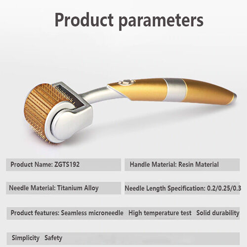 Professional-ZGTS-Derma-Roller-192-Needles-For-Face-Care-And-Hair-Loss-Treatment
