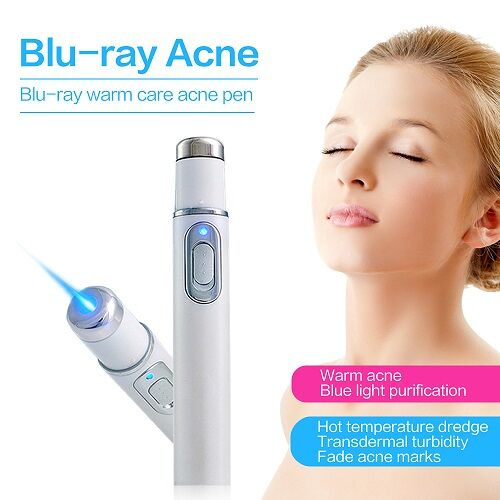 Acne Blu-ray treatment laser pen blue light therapy