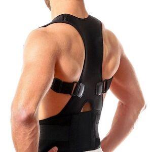Magnetic lumbar lower back brace posture corrector support belt