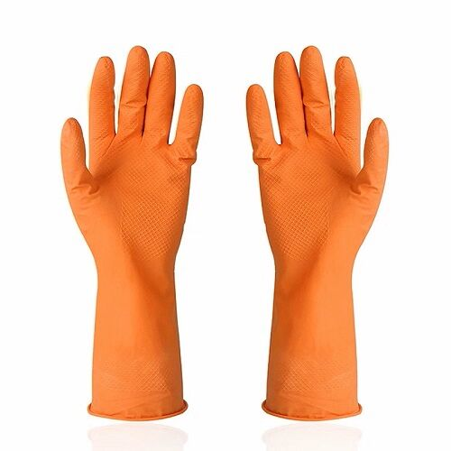 Safety Waterproof Household Latex Rubber Gloves
