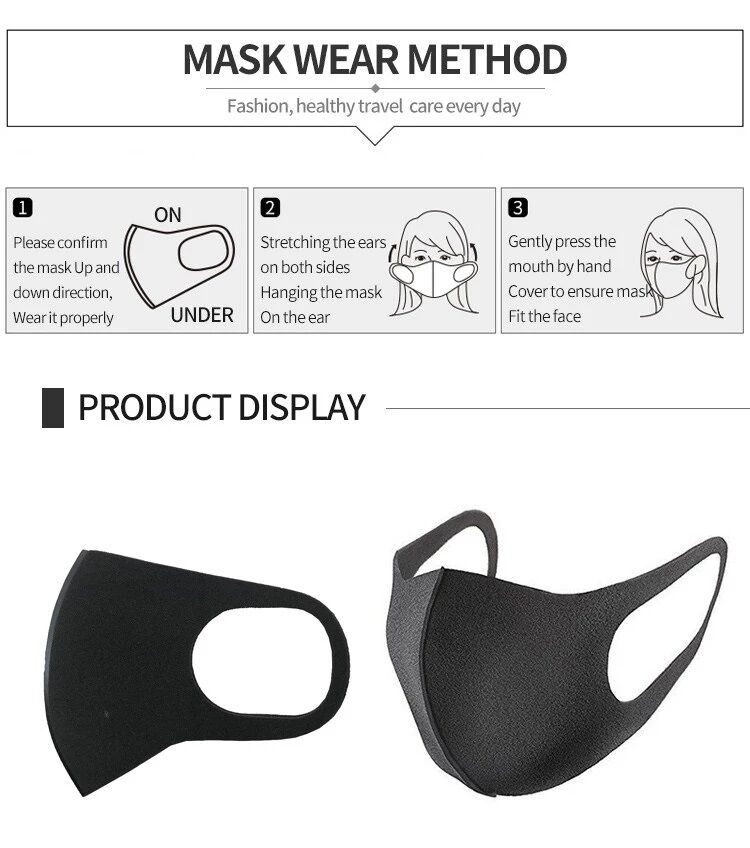 Pollution Filter Mask