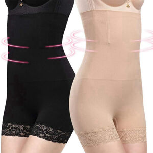 women shapewear seamless high waist tummy control panties
